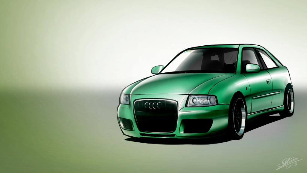 Audi - Vehicle Illustration